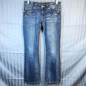 💛 Miss Me boot cut jeans  size 27